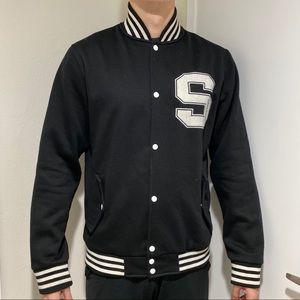Supreme Society mens baseball jacket